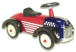 アルタバーグ ARTABURG #891US SPEEDSTERアータバーグ アメリカ スピードスター レッド子供用四輪車 ペダルカー&ライドオン[乗り物・乗用玩具]