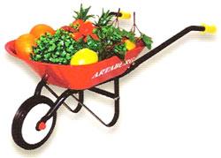 アルタバーグ ARTABURG #2012MW METAL WHEEL BARROWアータバーグ メタルホイールバロー レッド子供用ペダルカー&ライドオン[乗り物玩具]手押し車 カタカタ 一輪手押し車おもちゃを運ぶ時や収納ボックスとしても便利です。