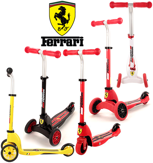 Ferrari Multi 2 Wheel Front Scooters In 1 And Replace The Wheels Try White Yellow Red Black Handling Height Adjule T Handle Growth