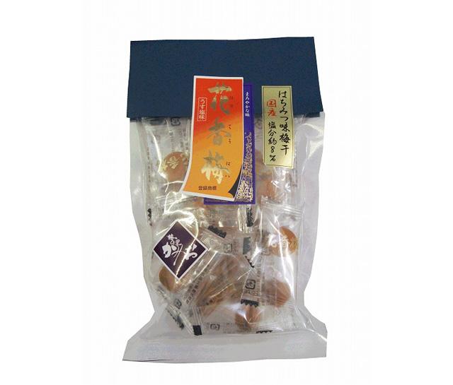 神尾食品工業 【塩分約8%はちみつ風味の梅干】花香梅小梅干 20P持ち運びに便利な個包装タイプ!