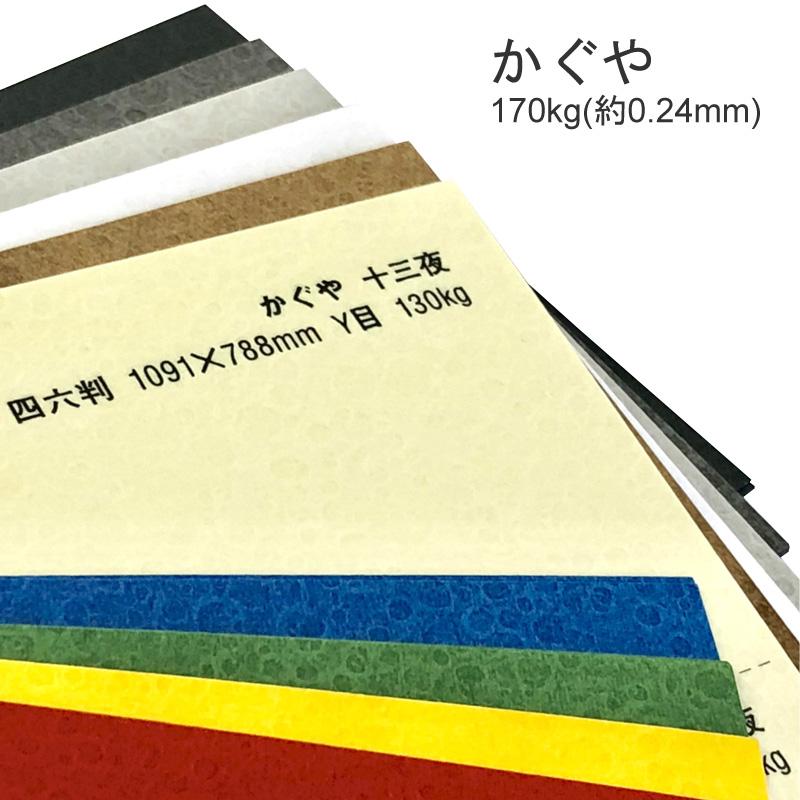 かぐや 170kg月のクレーターをイメージしたファンシーペーパー 特殊紙 170kg 0.24mm 選べる10色 ファンシーペーパー 型押し模様 秋色の紙 出群 注目ブランド エンボス クレーター柄 凸凹 印刷用紙