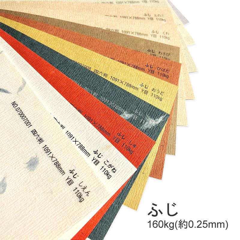 ふじ 160kg A3 100枚色つきの繊維が入った和風な紙 年末年始大決算 特殊紙 0.25mm 100枚選べる4色 格子柄 印刷用紙 ファンシーペーパー 初売り エンボス 和風 ブレンド模様