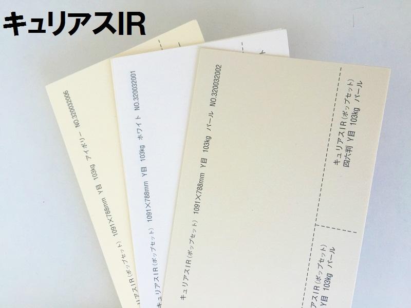 【特殊紙】キュリアスIR 146kg(0.20mm) A3 100枚選べる2色【ファンシーペーパー 印刷用紙 FSC森林認証紙 平らな紙 キラキラ 自費出版 同人誌 表紙向け】