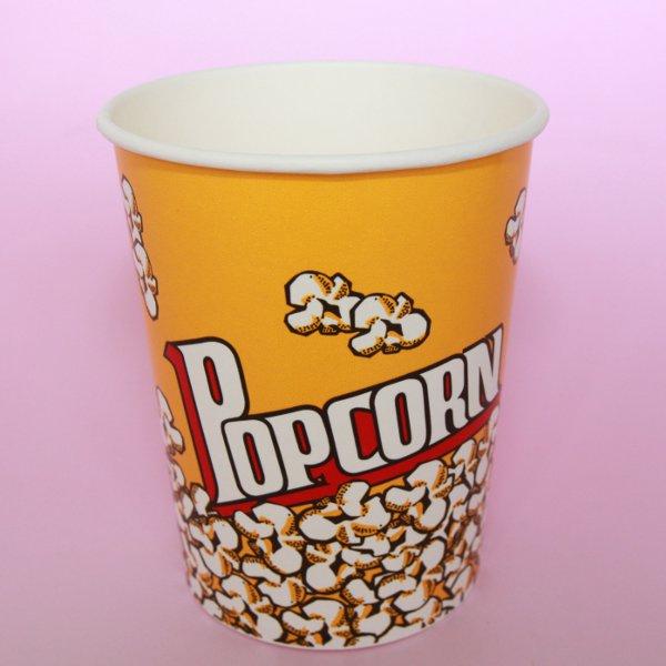 紙コップ32オンス(ポップコーンカップ)500個 【箱買い】【業務用】