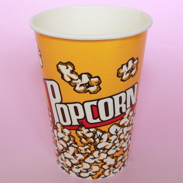 紙コップ46オンス(ポップコーンカップ)500個 【箱買い】【業務用】