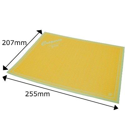 クレープ包装紙 【ドリームズ(長方形)】 3000枚/箱(山吹色)※メーカー:アオト印刷