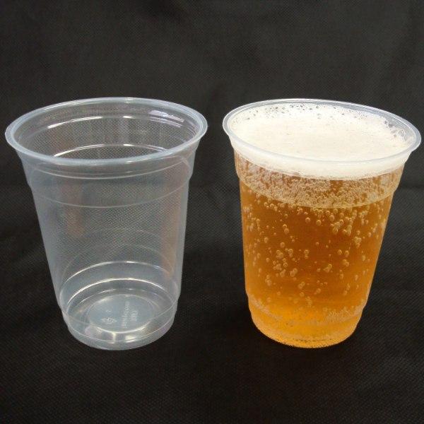 【業務用】透明プラスチックカップ14オンス 2000個/箱(使い捨て容器)