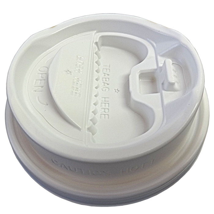 蓋をしたまま飲める便利な飲み口付き紙コップフタ 【箱買い】香るリッド 白 口径90mm用 2000個 送料無料 ※冷暖対応蓋 Lid for paper cup:90mmφ