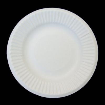 受注3営業日後出荷【箱買い】紙皿業務用ホワイト4号10.5cm(4800枚) 【耐水】【耐油】 使い捨て紙皿