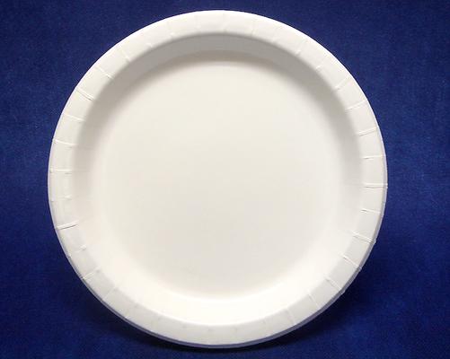 【3箱まとめ買い】紙皿業務用ホワイト11号27cm(900枚) 【耐水】 とても大きな使い捨て紙皿
