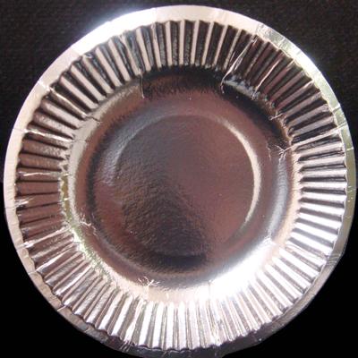 【箱買い】紙皿シルバー4号(10.5cm)4800枚 【送料無料】 おしゃれな使い捨て紙皿