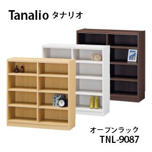 【白井産業】【代引き不可】Tanalio タナリオ 幅 87×高さ 90cmタイプ オープンラック TNL-9087 オープンラック 収納 おしゃれ かわいい シンプル モダン