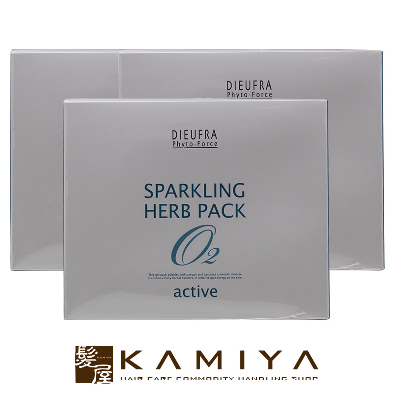 デュフラ フィトフォース スパークリング ハーブパックA 8g(30包入)×3個セット(フェイスパック)【送料無料】
