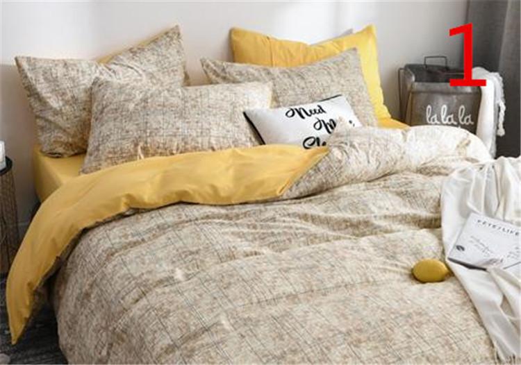 韓国 INSスタイル 日本全国 最新 送料無料 枕カバー 3点セット シーツ プリント ふとんのシーツ 寝具