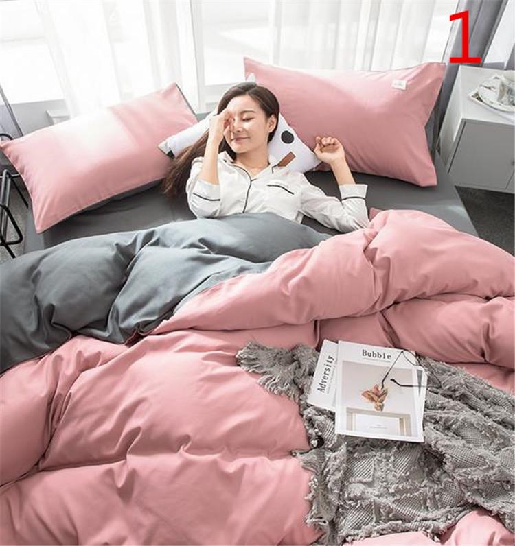 当店一番人気 クラシックタイプ INSスタイル 枕カバー 4点セット 宿舎 シーツ 超人気 寝具 ふとんのシーツ