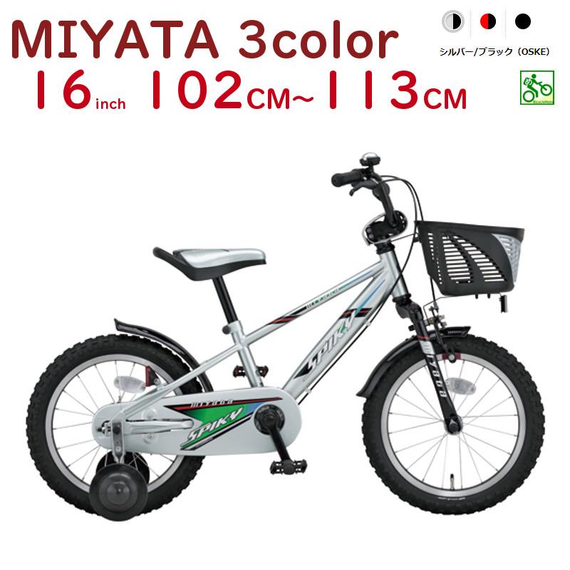 ミヤタ 幼児自転車 FCK167 スパイキーキッズ 16インチ SPIKY KIDS BICYCLE 完成車