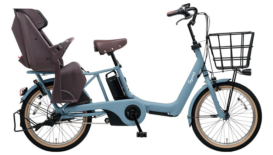 パナソニックギュット・アニーズ・DXBE-ELAD03V2マットブルーグレー20インチ16A2019電動アシスト自転車完成車