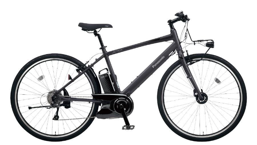 増税前 5倍 24日まで パナソニック BE-ELHC249B ジェッター マットチャコールブラック 電動アシスト自転車 16A 700C クロスバイク 490mm