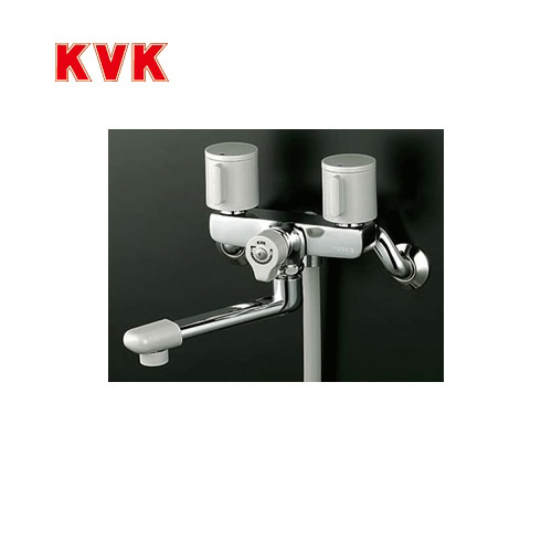 [KF140G3]KVK 浴室水栓 シャワー水栓 2ハンドルシャワー(壁付きタイプ) エコこま(快適節水) 蛇口 【送料無料】 壁付タイプ