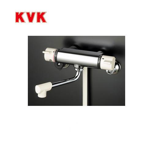 [KF800S2]KVK 浴室水栓 シャワー水栓 サーモスタットシャワー金具(壁付きタイプ) ワンストップシャワーヘッド付 逆止弁 白ホース1.6m 快適節水シャワー 蛇口 【送料無料】 壁付タイプ