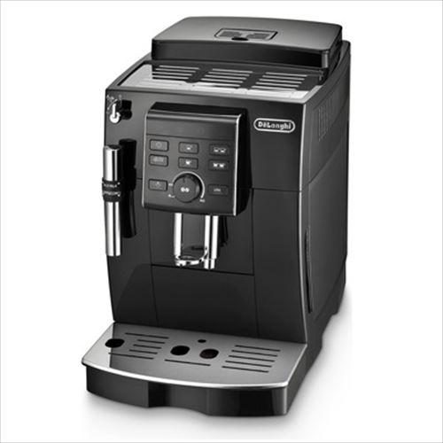 [ECAM23120B] デロンギ コーヒーメーカー マグニフィカS コンパクト全自動エスプレッソマシン 豆から淹れる ミルク泡だて ブラック 【送料無料】※製造国はお選び頂けません。