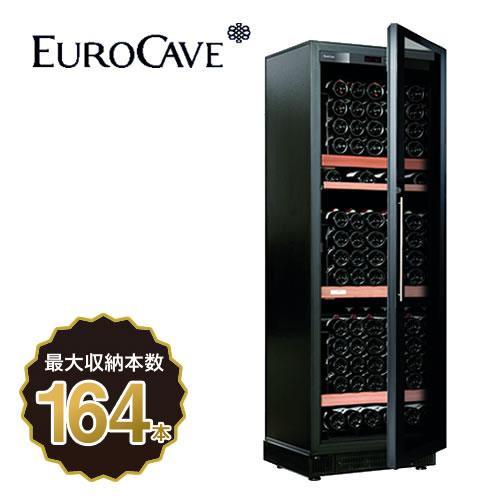 [V259T-PTHF]ユーロカーブ ワインセラー コンパクト59シリーズ 1温度帯セラー(ヴィエイテック) 収容本数:164本 EUROCAVE NR(Nero ネロ) 【送料無料】【メーカー直送のため代引不可】