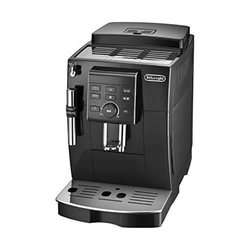 [ECAM23120-BN]デロンギ コーヒーメーカー マグニフィカS コンパクト全自動エスプレッソマシン 豆から淹れる ミルク泡だて ブラック 【送料無料】