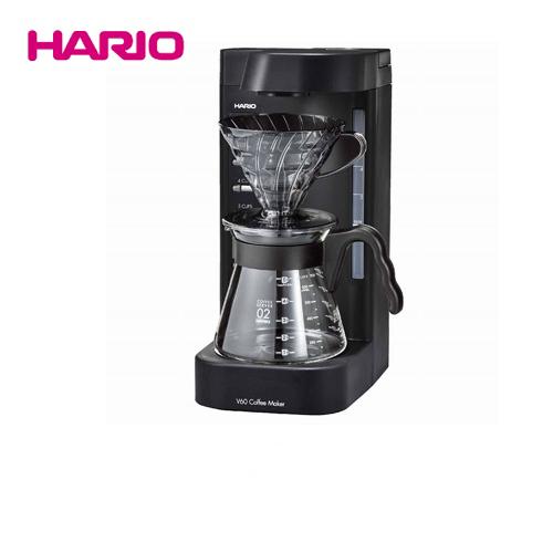 [EVCM2-5TB] ハリオ コーヒーメーカー V60珈琲王2 コーヒーメーカー HARIO かぎりなくハンドドリップに近い味わい ペーパードリップ式 透明ブラック 【送料無料】