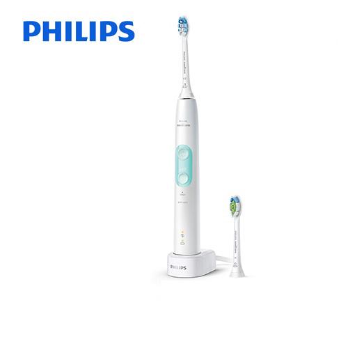 [HX6457-68] フィリップス 電動歯ブラシ Sonicare ProtectClean ソニッケアープロテクトクリーン<プラス> 充電式電動歯ブラシ 過圧防止センサー 2つのモード ホワイトミント 【送料無料】