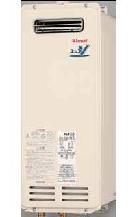 【送料無料】 リンナイ ガス給湯器 16号 給湯専用 音声ナビ 屋外壁掛 PS設置型 15A 【リモコン別売】[RUX-VS1616W] 価格 給湯器【給湯専用】