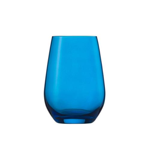 [1948] ヴィーニャ ワイン ワインセラー スポット タンブラー13oz ブルー ヴィーニャ 最大径81×高さ114 6個 397cc 【送料無料】【メーカー直送のため代引不可】