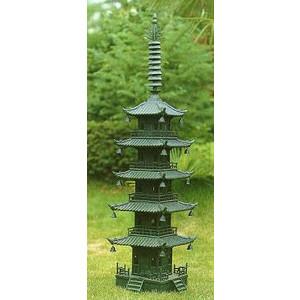 高岡銅器 庭園 五重の塔 高さ約71cm 【送料無料】