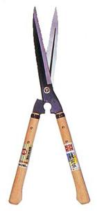 軽くて強いハイテクばさみ 経済的な替え刃 吉岡刃物 鋭型刈込鋏 NO128 240mm ハサミ 青紙 ファクトリーアウトレット はさみ プロ用 流行 送料無料