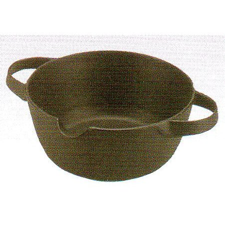 超美品再入荷品質至上 ご家庭で本格的に楽しめます 素材のおいしさを逃がさない鍋 評価 南部鉄器 内径180mm 重量:1.46kg ひとくち天ぷら鍋