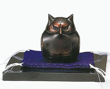 贈り物にも 迅速な対応で商品をお届け致します 伝統工芸品の香炉 癒しの香り 84-06ミニ香炉 豪華な 02P06jul10 ふくろう 福籠