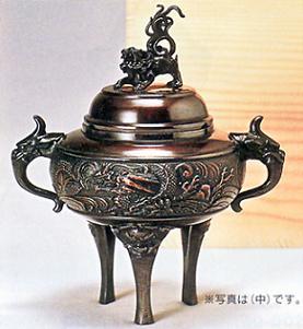 61-04香炉 竜丸(中)【送料無料】