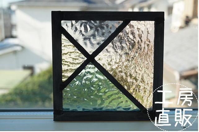 正規品 12×12cm パステルカラー 淡い色 シリーズ イエロー ピンク グリーン グレー ステンド工房直販 安値 ガラス サイズ変更OK ステンドグラス パネル 住宅用 斜めのライン 淡い色の組み合わせ 12cm×12cm 改築 小窓 壁装飾 リフォーム 空間アクセント 明かり採り 黄色 室内窓 緑 新築 建材パーツ 新生活 室内装飾 インテリア 壁埋め込み ステンド