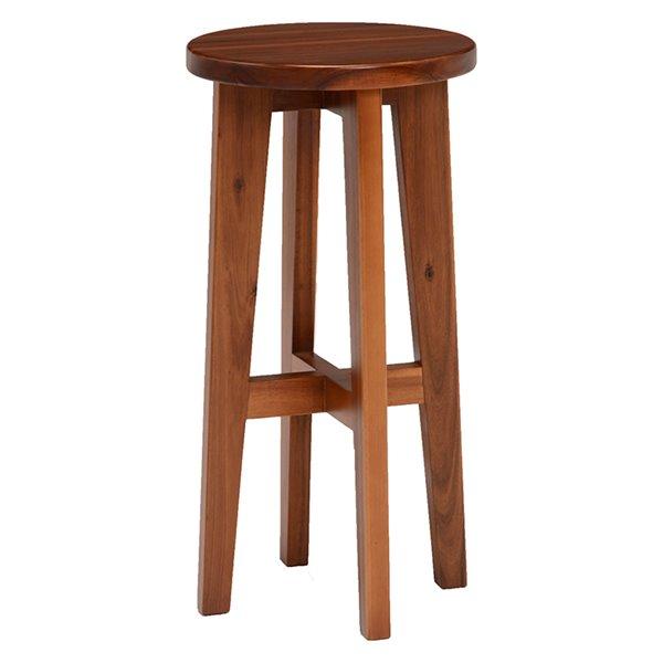 スツール ハイスツール コンソールチェアー 高さが高い 椅子 イス アカシア材 天然木製