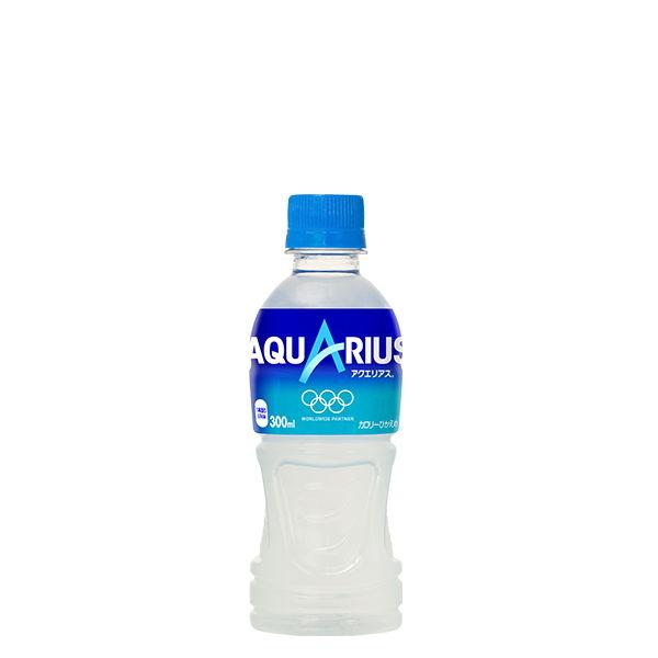 アクエリアス 300ml ペットボトル スポーツ飲料 ドリンク 2ケース 48本入