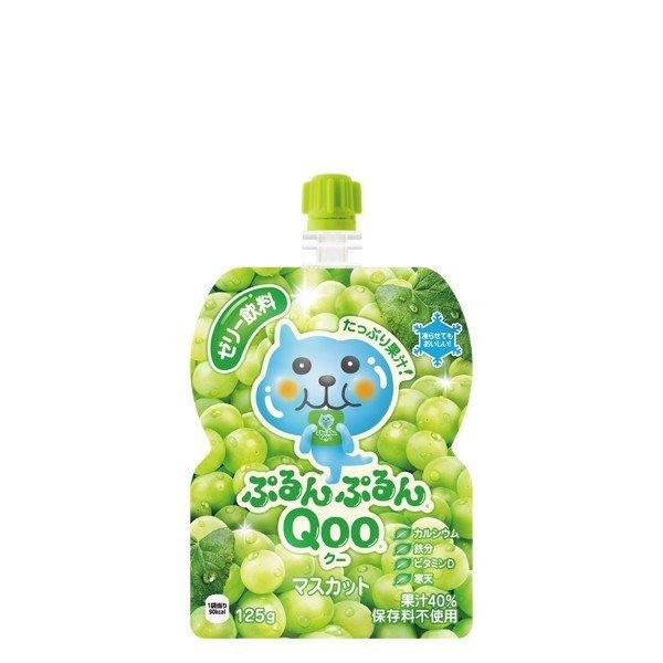 ミニッツメイド ゼリー飲料 ぷるんぷるんQoo クー 125gパウチ 2ケース 60本入