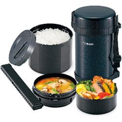 ステンレスランチジャー 茶碗4杯分 保温弁当箱・スープジャー お弁当箱 お弁当 ランチジャー おべんとう ランチ