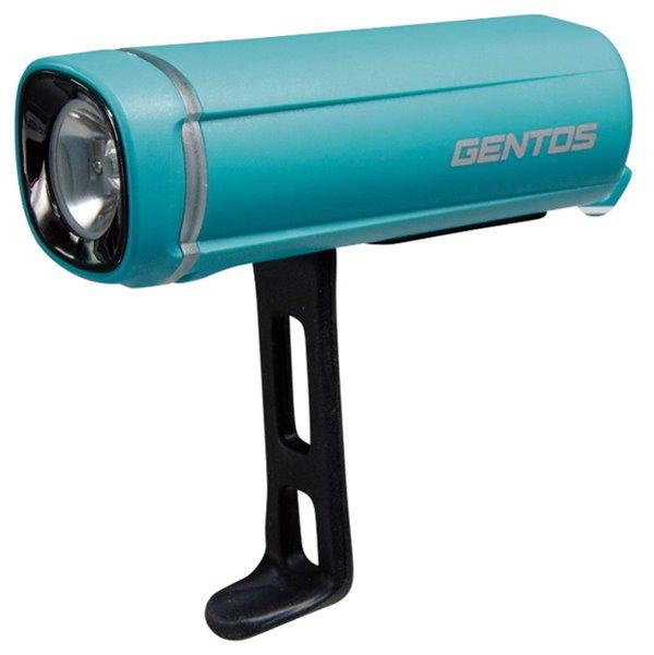 ジェントス GENTOS BL-500TB LEDライト シティサイクル 自転車用 ライト 国内即発送 ランプ 自転車用ライト LED バイクライト 自転車専用ライト 自転車ライト 自転車用アクセサリー 防水 LIGHTS 希望者のみラッピング無料 高輝度白色LED ターコイズブルー 一体型ラバーバンド
