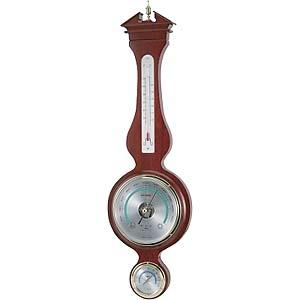 エンペックス ウェザークイーン気象計 BM-7003 気圧計 温度計 湿度計 EMPEX 温湿度計 壁掛け[送料無料]