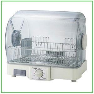 食器乾燥機 食器乾燥器 象印 5人用 EY-JF50-HA(ゾウ/しょっきかんそうき/コンパクト/省スペース)