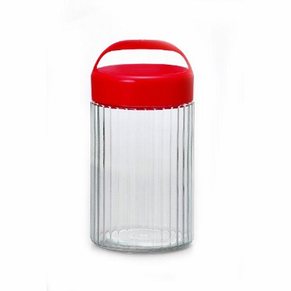 取っ手付き保存瓶 ガラス保存びん なんでもポット 3L×12個セット