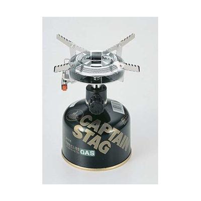 ガスバーナーコンロ 小型 ミニサイズ キャプテンスタッグ オーリック 小型ガスバーナーコンロ