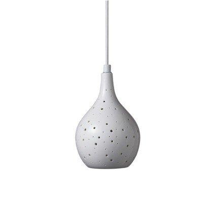 LED 磁器 ペンダントライト ランダムドット 磁器ペンダント ダクトプラグ ダクトレール用