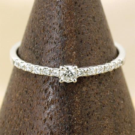 通常価格の10%OFF リング ダイヤモンド0.13ct プラチナ900 Pt900 送料無料 ギフト プレゼント ジュエリー Xmas早割