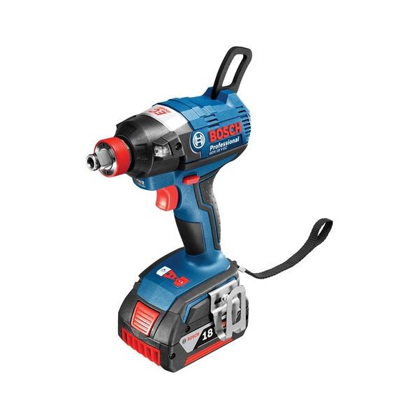 台数限定 ボッシュ 充電インパクトドライバー GDX18V-EC6 (6.0Ahバッテリー2個、充電器、キャリングケースL-BOXX136付)バッテリ・充電器セット品