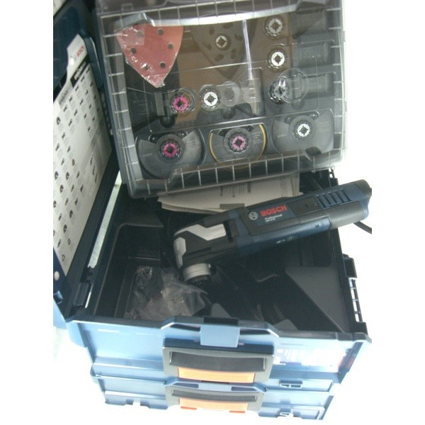 ブレード取付け1秒のスナップインシステム 在庫有 ボッシュ マルチツール スターロックマックス セット GMF50-36 +34ASkit 消費電力500W ケース L-BOXX136+i-BOXX RACK付き BOSCH GMF50-36J2 ★